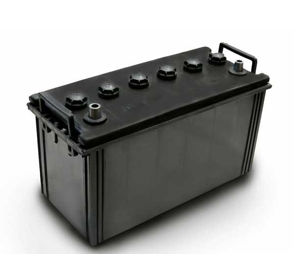 جعبه و درب پلاستیکی باتری ۱۲۰