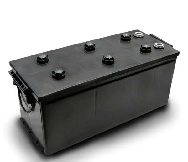 جعبه و درب پلاستیکی باتری 180