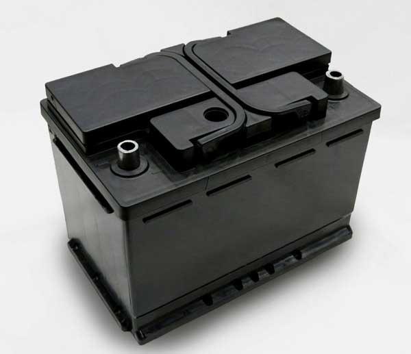جعبه و درب پلاستیکی باتری L3